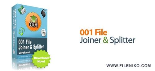 001joiner - دانلود 001File Joiner and Splitter v4.0.5  نرم افزار تقسیم و یا ادغام فایل ها