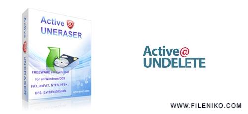 active uneraser - دانلود Active UNDELETE Pro + Ultimate 16.0.05  نرم افزار باز گردانی اطلاعات پاک شده سیستم
