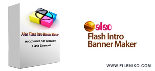 aleo flash intro - دانلود Aleo Flash Intro Banner Maker v4.1  نرم افزار ساخت بنرهای تبلیغاتی فلش