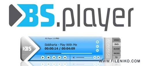 bsplayer - دانلود BS.Player Pro 2.74.1085 پخش انواع فایل های صوتی و تصویری