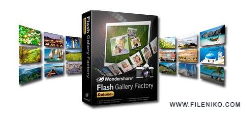flash gallery factory - دانلود Wondershare Flash Gallery Factory v4.8.2.18 نرم افزار ساخت گالری فلش