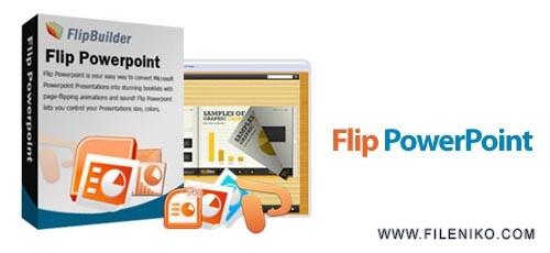 flip powerpoint - دانلود Flip PowerPoint v3.2.0  نرم افزار تبدیل اسلایدشو های پاورپوینت به کتاب های فلش