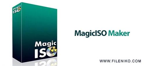 magic iso - دانلود MagicISO Maker v5.5 Build 281  نرم افزار ایجاد، ویرایش و رایت فایل های ایمیج