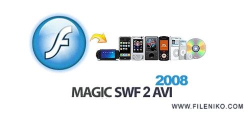 magic swf2avi - دانلود Magic Swf2Avi 2008 v5.0.7.1225 :: تبدیل فایل های فلش به فرمت های دیگر ::