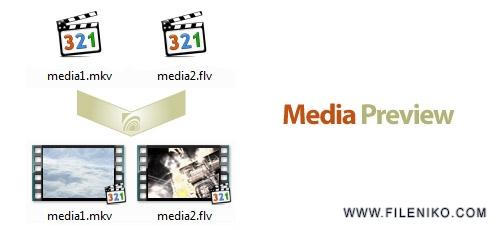mediapreview - دانلود Media Preview v1.2 x86/x64  نرم افزار فعال سازی پیش نمایش بند انگشتی تمامی فرمت های ویدیویی در ویندوز
