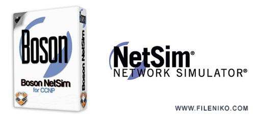 netsim - دانلود Boson NetSim v11.7.6487  نرم افزار شبیه ساز شبکه