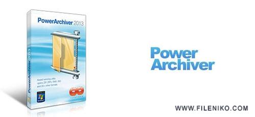 power archiver - دانلود PowerArchiver 18.00.56  نرم افزار فشرده سازی