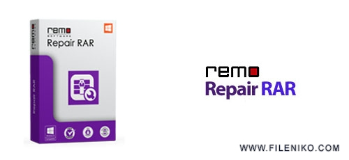 repair RAR - دانلود Remo Repair RAR v1.0.0.12  نرم افزار تعمیر فایل های آسیب دیده ی RAR