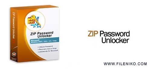 zip password - دانلود ZIP Password Unlocker v4.0  نرم افزار بازیابی پسورد فایل زیپ