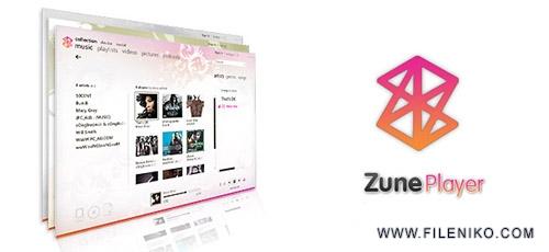 zoneplayer - دانلود Zune v2.5 - جایگزینی مناسب برای Media Center رقیبی برای iTunes