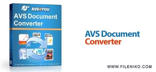 avs document converter - دانلود AVS Document Converter 4.1.1.258  تبدیل و نمایش اسناد