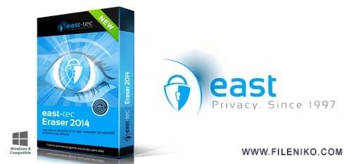 east 2014 - دانلود East-Tec Eraser 13.0.0.9000  نرم افزار پاکسازی سیستم عامل ویندوز