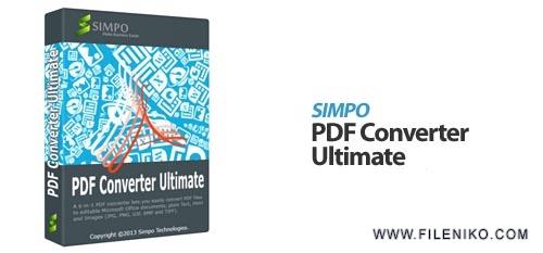 pdf converter ultimate - دانلود Simpo PDF Converter Ultimate 1.5.3.0  تبدیل اسناد PDF