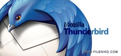 thunderbird - دانلود Mozilla Thunderbird v60.0  نرم افزار مدیریت ارسال و دریافت ایمیل