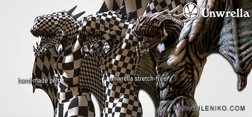 unwrella - دانلود Unwrella 2.20 For 3Ds Max 2011 - 2012 - 2013 x86/x64  پلاگین Unwrella