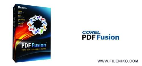 corel pdf fusion - دانلود Corel PDF Fusion 1.14  ساخت، ویرایش و تبدیل فایل های PDF