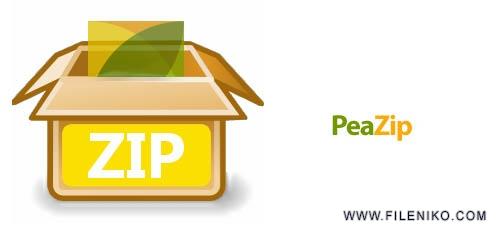 peaZip - دانلود PeaZip 7.0.1 فشرده سازی سریع فایل ها و فولدرها