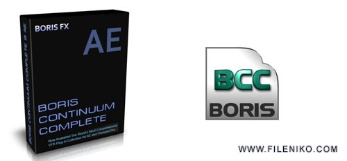 bcc - دانلود Boris Continuum Complete AE 10.0  ایجاد افکت های تصویری