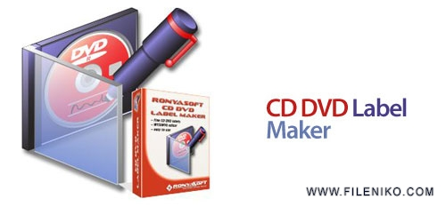 cd dvd lable maker - دانلود RonyaSoft CD DVD Label Maker 3.2.12  ساخت لیبل و کاور برای CD