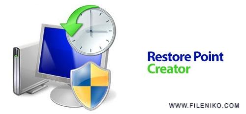 restorepoint creator - دانلود Restore Point Creator 7.0 Build 4  مدیریت System Restore در ویندوز