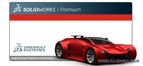 solid works 500x230 - دانلود SolidWorks Premium 2019 SP2.0  طراحی حرفه ای قطعات صنعتی