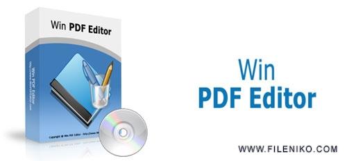 win pdf editor - دانلود WinPDFEditor 3.1.0.4 نرم افزار ویرایش PDF و ایجاد تغییرات در آن