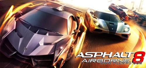 دانلود Asphalt 8 Airborne 3.0.0l  آخرین ورژن بازی آسفالت 8 اندروید