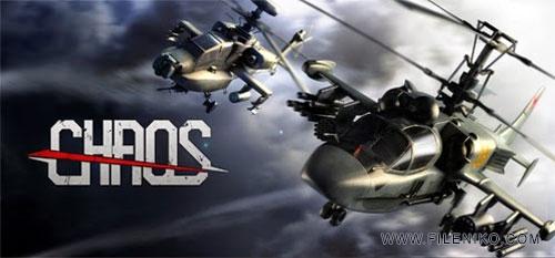 CHAOS Combat Copters - دانلود بازی CHAOS Combat Copters HD 6.4.1 برای اندروید به همراه دیتا و نسخه مود شده