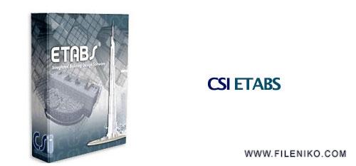 CSI ETABS - دانلود CSI ETABS Ultimate 19.0.0-2277 تحلیل و طراحی سازه ساختمانی
