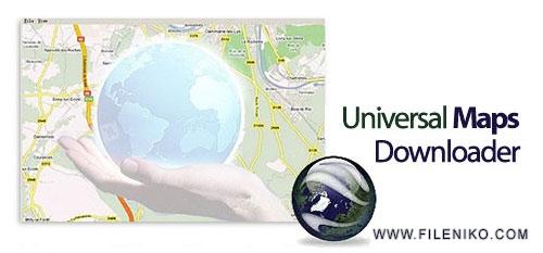 Universal Maps Downloader - دانلود Universal Maps Downloader 9.915 ذخیره نقشه های ماهواره ای