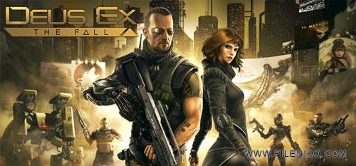 deus ex the fall - دانلود بازی Deus Ex The Fall 0.0.41  برای اندروید به همراه دیتا