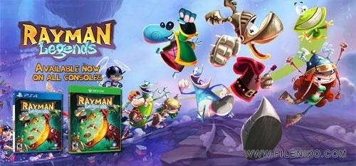 rayman legends - دانلود بازی Rayman Legends برای PC
