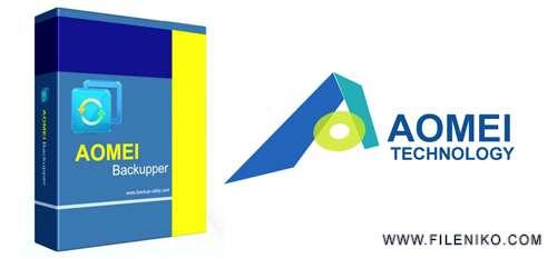 AOMEI Backupper - دانلود  AOMEI Backupper Professional / Server / Technician Plus 4.5.1  تهیه بکاپ از هارد دیسک