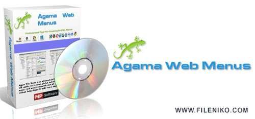Agama Web Menus - دانلود Agama Web Menus 2.21 Professional :: طراحی و ساخت منو برای صفحات وب ::