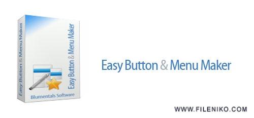Blumentals Easy Button Menu Maker - دانلود Blumentals Easy Button Menu Maker Pro 5.2.0.36  طراحی منو و دکمه زیبا