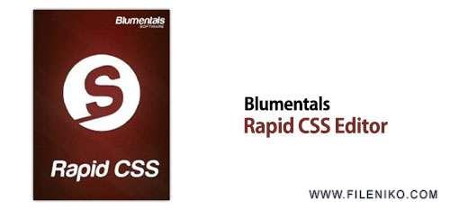 Blumentals Rapid CSS Editor - دانلود Blumentals Rapid CSS Editor 2018 15.3.0.205  طراحی CSS