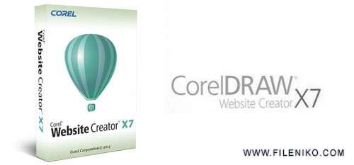 Corel Website Creator - دانلود Corel Website Creator X7 13.50.0100.5566  طراحی سایت کورل