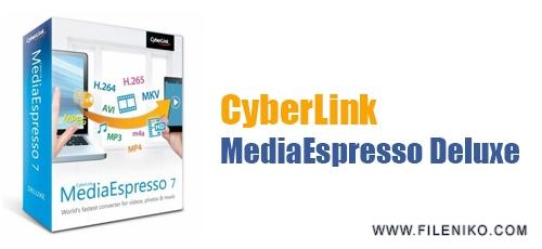 CyberLink MediaEspresso Deluxe - دانلود CyberLink MediaEspresso Deluxe 7.5.10422 مبدل فرمت صوتی و تصویری
