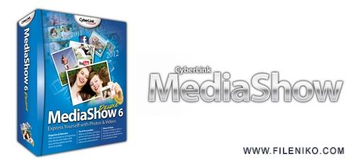 CyberLink MediaShow - دانلود CyberLink MediaShow Ultra 6.0.11524  ساخت آلبوم های تصویری