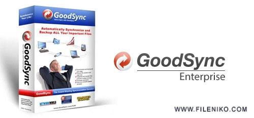 Goodsync - دانلود Goodsync Enterprise 10.9.10.5  بک آپ گیری و هماهنگ سازی فایل