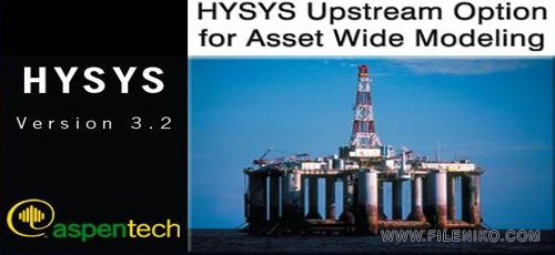 HYSYS - دانلود Aspen HYSYS 3.2  نرم افزار طراحی و شبیه سازی فرآیندهای شیمیایی