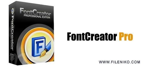 High Logic FontCreator Pro - دانلود FontCreator Pro 12.0.0.2522 نرم افزار ساخت و ویرایش فونت