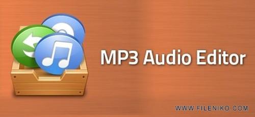 Mp3 Audio Editor 500x230 - دانلود Mp3 Audio Editor 9.6.3  ویرایش فایل های صوتی