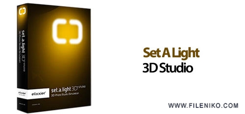 Set A Light 3D Studio - دانلود Set A Light 3D Studio 1.0.74 شبیه ساز استودیو عکاسی برای عکاسان