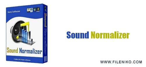 Sound Normalizer - دانلود Sound Normalizer 7.3  افزایش و بهبود کیفیت فایل صوتی