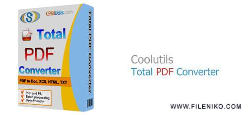 Total PDF Converter - دانلود Coolutils Total PDF Converter 6.1.140  مبدل فایل PDF به سایر فرمت ها
