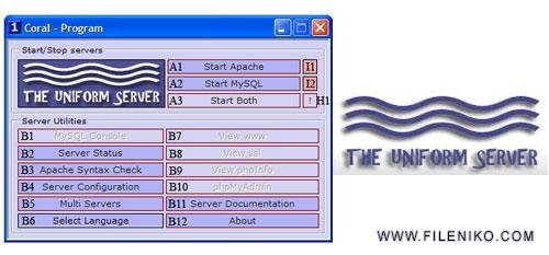 Uniform Server - دانلود Uniform Server 8.9.2 شبیه ساز سرور WAMP بر روی فلش مموری