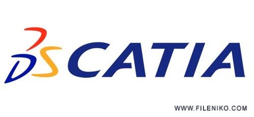 catia 500x230 - دانلود DS CATIA P3 V5-6R2017 SP6 x64 نرم افزار کتیا 2017 به همراه Documentation