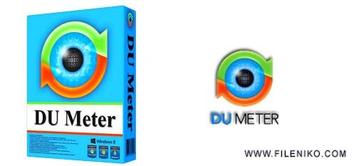 du meter - دانلود DU Meter 7.30 Build 4769  محاسبه پهنای باند اینترنت