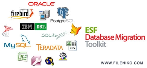 esf database migration toolkit - دانلود ESF Database Migration Toolkit Professional Editon 9.1.14  مدیریت و ویرایش انواع پایگاه دادها